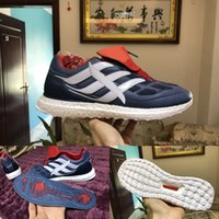 Wholesale Precision Flat - Predator Precision Ultra Boost TR UB CM7913 Mens Running Shoes Soccer Football Boot Blue Red White Man Ultraboost Sports Sneakers Size 39-45