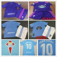 441c30f53 Kids RC Celta Soccer Jerseys 9 M.Gomez 10 Iago Aspas 11 Sisto Custom Home  Away 2018 2019 Adult Youth Kid Football Shirt