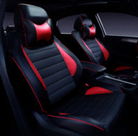 Wholesale rav4 front - Special Leather car seat covers For Toyota RAV4 PRADO Highlander COROLLA Camry Prius Reiz CROWN yaris car accessories styling