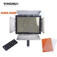 Wholesale camera leds resale online - YN600 YN LED Video Light k k Color Temperature Adjustable LEDs For Canon Nikon Camera Camcorder