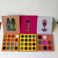Wholesale full place - In stock Juvia place THE MAGIC PALETTE eyeshadow Cleopatra nubian eyeshadow Matte glitter eyeshadow palette DHL FREE SHIPPING