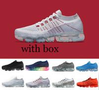 Wholesale High Walk - 2018 high quality Vapormax Running Shoes For Mens Sneakers Women Fashion Athletic Sport Shoe Hot Corss Hiking Jogging Walking Outdoor Shoe