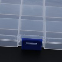 Wholesale lure 15 for sale - Transparent Movable Compartments Fishing Tackle Boxes DIY Portable Fishing Lure Baits Hooks Waterproof Storage Box Case