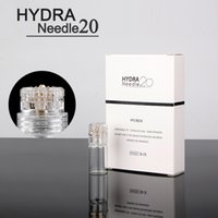 ingrosso touch pin-Hydra ago 20 pin Micro Needle Derma Stamp Aqua Micro Channel Mesoterapia Meso Roller Ago d'oro Fine Touch System