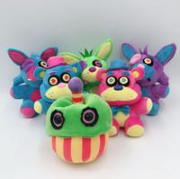 ingrosso ems giocattoli-6 stili fumetto cinque notti al peluche di Freddy Bonnie / Foxy / Freddy FNAF Animali impagliati 18cm / 7 pollici EMS C4872