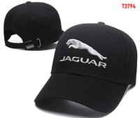 ingrosso osso auto-2018 New gorras cappello Jaguar Cotone Ricamo F1 Corsa di Cotone Da Baseball Regolabile Golf Cap cappelli Auto per le donne degli uomini di estate osso casquette