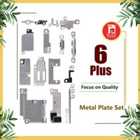 Wholesale Body Kits Parts - For iPhone 6 Plus Full Body Inner Small Holder Bracket Shield Plate For iPhone 6p Metal Iron Body Parts Set Kit Phone Repair Parts