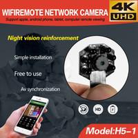 Wholesale wholesale surveillance camera dvr - 4K Ultra-HD IR night vision DIY Module camera wireless wifi module board Mini camera Home office security Surveillance Mini DV DVR