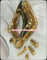bateria de boa qualidade iphone venda por atacado-Luxo 24kt chapeamento de ouro tampa traseira do metal caixa de habitação para apple watch para iwatch Editio18Kt Moldura Quadro Faceplate 38 42 MM