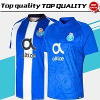 Wholesale boys shirts sale - Porto home blue white Soccer Jersey 18 19 Porto 3rd soccer Shirt 2019 third Football uniforms Sales