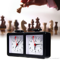 Wholesale Square Games - Electronic Quarz Analog Chess Clock for Chinese Chess International Chess I-GO Count Up Down Timer for Game Competition School BN