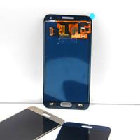 toque samsung e5 al por mayor-100% probados LCD Samsung E5 E5000 E500 Pantalla táctil LCD Componentes del digitalizador Digitalizador de brillo ajustable