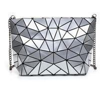 Wholesale Wholesale Bao - Women Bao Bao Bag New Geometry Laser Handbag Fashion Chain BAOBAO Clutch Crossbody Bags For Women Shoulder Bag bolsos mujer