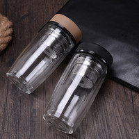 Wholesale water filter drinks bottle for sale - Group buy Portable Water Bottles New Teas Filter Mug Tea Strainer Glass Cup Heat Resistant Easy To Carry wy C