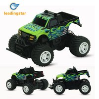 Wholesale rc rally - LeadingStar RC Car 4 Channel Radio 2.4GHz Rally climbing Car Bigfoot Remote Control Model Off-Road Vehicle Toy