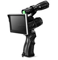 ingrosso laser visivo-WG5014 200 M Night Vision Camera NV Spotter IR Torcia Elettrica del Laser 50mm Lente da 5 pollici LCD Visione Notturna di Caccia ambito Secu
