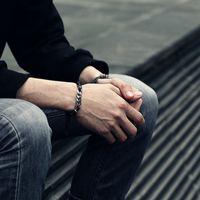 einstellbares paar armband großhandel-Davieslee Mens Armband Paare Kette Kunstleder Edelstahl Kabel Curb Link Einstellbare Knoten Armbänder 4-11mm LDLBM01B