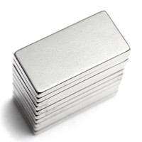 Wholesale magnet blocks for sale - Group buy free shiping N35 Super Strong Neodymium Magnet Block Cuboid Rare Earth Magnets N35 x x mm