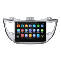Wholesale Car Stereo Tv Hyundai - Auto Stereo Player with Octa Core RAM 4G ROM 32G Android Fit Hyundai TUCSON   IX35 2015 2016 2017 - Car DVD Player Navigation GPS Radio