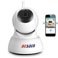 Wholesale Hd Outdoor Security Cameras Ptz - BESDER HD 720P IP Camera Wifi PTZ Security Two Way Audio Night Vision Smart CCTV Surveillance Wireless IP Camera P2P Cloud iCSee