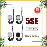 flex-handy großhandel-Für iPhone SE Home Button mit Flexkabel Schwarz Weiß Gold Rose Gold Farbe Ersatz Reparatur Handy Ersatzteile