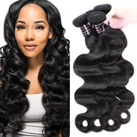 Wholesale human hair extentions colors for sale - Group buy Ishow Human Hair Best Quality A Brazilian Body Wave Hair Bundles Human Weave Cheap Remy Hair Extentions Natural Color