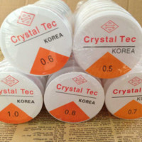 Wholesale red line jewelry - DIY Crystal Beading Stretch Cord Elastic Line Transparent Clear Beading Wire Thread Jewelry Making