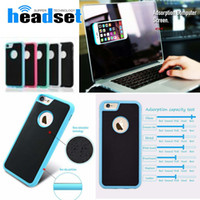 Wholesale anti gravity case car resale online - For s8 plus Case Anti Gravity Cases For Magical Anti gravity Nano Suction Cover Adsorbed Car