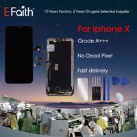 ingrosso apple tft-Garde A +++ display LCD TFT per iPhone X Touch Screen parti di ricambio con strumenti gratuiti Spedizione DHL
