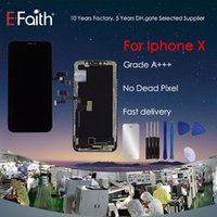 touchscreen iphone großhandel-Garde A +++ TFT LCD-Anzeige für iPhone X-Touchscreen-Ersatzteile mit kostenlosen Werkzeugen DHL-Versand