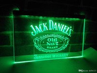 Wholesale led neon sign display - LE048g- Jack Daniels Whisky Display LED Neon Light Sign