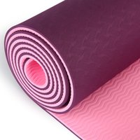 ingrosso lo stuoia di yoga si allarga-Tappetino per yoga in TPE a due colori 183 * 80 * 8mm tappetino da yoga mat