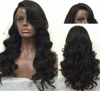 Wholesale brazillian curly lace front for sale - Group buy Cheap glueless full lace wigs for black women Brazillian swiss lace front human hair wigs with baby hair virgin human hair wigs