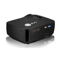 mini vídeo do projetor venda por atacado-GP70 projetor HD LED HDMI USB Vídeo Digital Home Theater Portátil HDMI USB DLP Filme DLP Pico LED Mini Projetor Melhor Preço