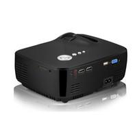 ingrosso film hd-Proiettore GP70 HD LED HDMI USB Video Home Theater digitale Portatile HDMI USB LCD DLP Film Pico LED Mini proiettore Miglior prezzo