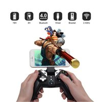 caja de tv android vr al por mayor-GameSir G4s Bluetooth 2.4G Gamepad inalámbrico para Android TV BOX Smartphone Tablet Wired Game Controller 32 bit para PC VR Games