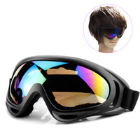 Wholesale glasses for motorcycles - Outdoor Glasses Motorcycle Sunglasses for Men & Women Youth Sport Tactical Goggles Windproof Sand Ski Goggles Sunglasses UV Protection Color