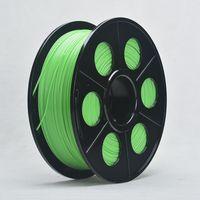 carretéis abs venda por atacado-Cor verde ABS 1,75 milímetros 3D Filament Para 3D Printer Pen Dimensional Precisão +/- 0.02 mm 1 kg Spool para Makerbot Rearap UP