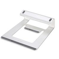 notebook aluminium kühlung stand großhandel-Ergonomisches Design Aluminium Laptop Stand Schreibtisch Dock Halter Halterung Cooling Pad für iPad / iPhone / Notebook / Tablet / PC / Smartphone Stand