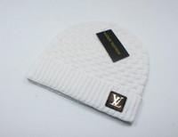 ingrosso berretti da uomo di marca-Cappelli per donna Uomo Designer di marca Berretti di moda Skullies Chapeu Berretti di cotone Gorros Toucas De Inverno Macka