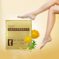 Wholesale Mask Top - AFY Foot Peeling Renewal Mask Cuticles Heel For Remove Dead Skin Excellent Feet Cleaning Foot Mask Top Quality 3006055