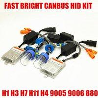 xenon hid kit h7 ac venda por atacado-12 V AC 55 W Brilhante Rápido Iniciar Livre de Erros HID Kit Xenon H1 H3 H7 H8 H9 H11