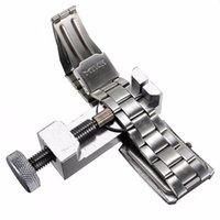 Wholesale Silver Kg - Professional Watch Repair Tool Kit Clock Watch Tools Band Pin Remover Tool Watch Parts horloge gereedschap