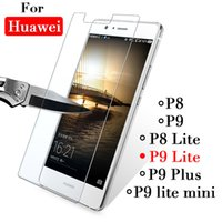 lumière huawei p8 achat en gros de-Pour Huawei P 9 Lite Verre pour Huawei P9Lite P9 Mini P8 Plus 8 protecteur d'écran sur le film de protection de protection trempé la lumière