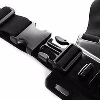 acessórios para heroi venda por atacado-Ajustável Sports Camera Harness Cinta Peitoral Para Go pro hero 5 4 3 Série SJ4000 SJ4000 SJ5000 Fix Para GoPro Acessório Mount Belt