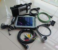 automotive engine analyzer software großhandel-für mb star automotive diagnostic sd kompakt c5 für mercedes werkzeuge mit ssd super mit laptop ix104 touchscreen diagose für mb
