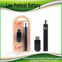Wholesale G2 Battery Charger - New Law Preheat Battery Blister Charger Kit 350mAh 650mAh 900mAh PreHeat O Pen Bud Touch Battery Preheating For CCELL CE3 G2 G5 Cartridges
