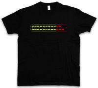 medidor de vinilo al por mayor-DB Meter I Camiseta Decibel Música Bajo Vinilo Estéreo Música Musik Recorder Studio Mens 2018 marca de moda Camiseta O-cuello 100% algodón