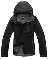ingrosso giacche apex-Vendita calda Nord Donna Denali Apex Bionic Giacche Outdoor Casual SoftShell caldo impermeabile antivento traspirante Sci Face Coat WomeN M017