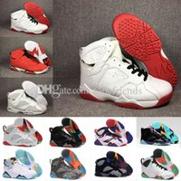 Discount olympic boxing - 7 Men Basketball Shoes 7s VII Red 23 Pure Money Black Bordeaux Olympic Hare Nothing But Net Tinker Nights French Blue GMP with Box US7-13